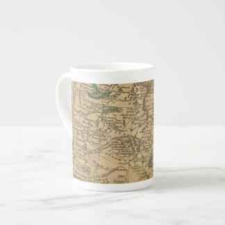 Norteamérica 3 taza de porcelana