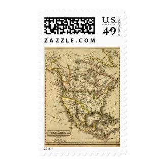 Norteamérica 40 sello