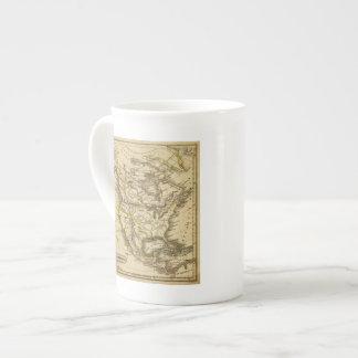 Norteamérica 40 taza de porcelana