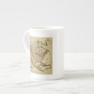 Norteamérica 42 taza de porcelana