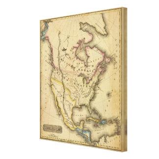 Norteamérica 44 impresión de lienzo