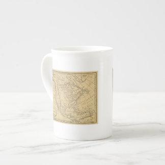 Norteamérica 44 taza de porcelana