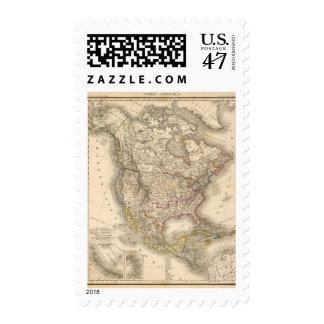 Norteamérica 45 sellos