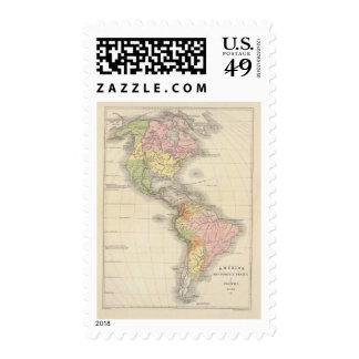 Norteamérica 46 sellos postales