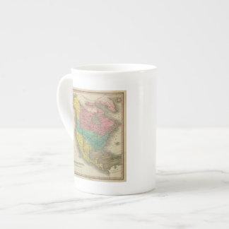 Norteamérica 5 taza de porcelana