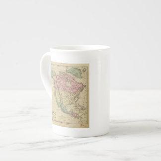Norteamérica 6 taza de porcelana