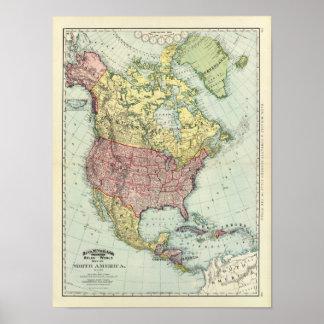 Norteamérica 7 póster