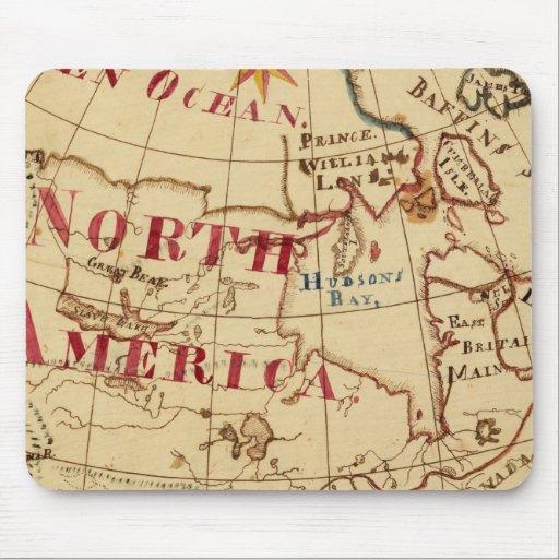 Norteamérica 8 tapetes de raton