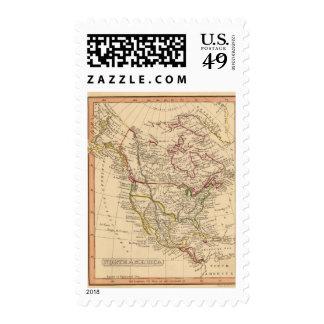 Norteamérica 9 sellos