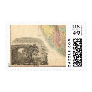 Norteamérica al sudoeste sellos