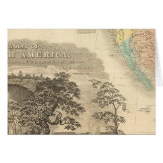 Norteamérica al sudoeste tarjeta de felicitación