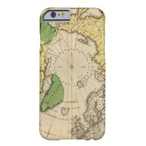 Norteamérica, Asia Funda Para iPhone 6 Barely There