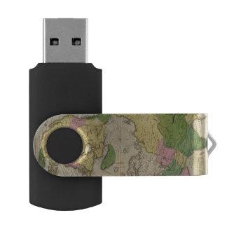 Norteamérica, Asia Pen Drive Giratorio USB 2.0