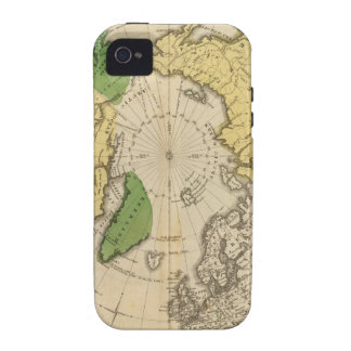 Norteamérica, Asia Vibe iPhone 4 Carcasas