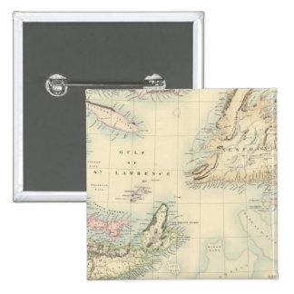 Norteamérica británico 3 pin cuadrada 5 cm