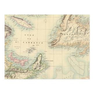 Norteamérica británico 3 tarjetas postales