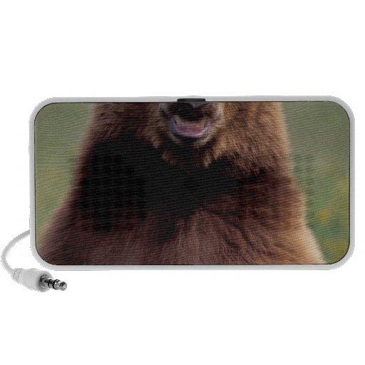 Norteamérica, California, oso negro del canela Mp3 Altavoz