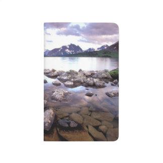 Norteamérica, Canadá, Alberta, nacional del jaspe Cuadernos