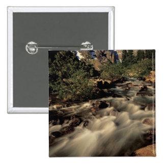 Norteamérica, Canadá, canadiense Rockies, Banff Pin Cuadrada 5 Cm