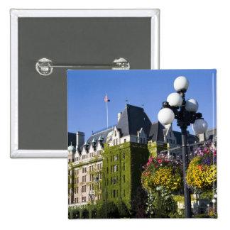 Norteamérica, Canadá, Columbia Británica, 5 Pin Cuadrada 5 Cm