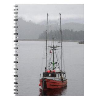 Norteamérica, Canadá, islas de la reina Charlotte, Spiral Notebooks