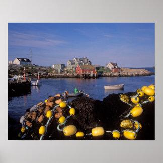 Norteamérica, Canadá, Nueva Escocia, Peggy Posters