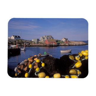 Norteamérica, Canadá, Nueva Escocia, Peggy Rectangle Magnet