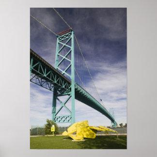 Norteamérica CANADÁ Ontario Windsor Poster