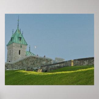 Norteamérica, Canadá, Quebec, la ciudad de Quebec  Póster