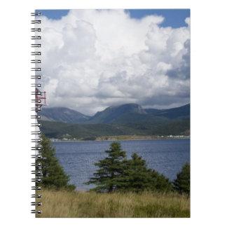 Norteamérica, Canadá, Terranova y 2 Spiral Notebooks