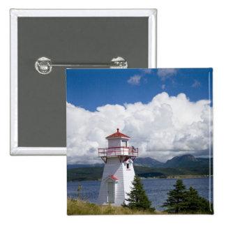 Norteamérica, Canadá, Terranova y Pin Cuadrada 5 Cm