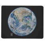 Norteamérica del espacio cuaderno grapado