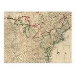 Norteamérica del norte postal