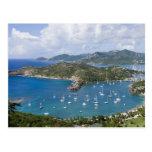 Norteamérica, el Caribe, Antigua. Inglés Tarjetas Postales