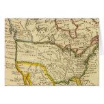 Norteamérica grabó el mapa felicitacion