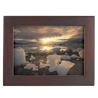 Norteamérica, los E.E.U.U., Alaska, bahía de hielo Caja De Recuerdos