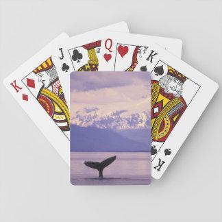 Norteamérica, los E.E.U.U., Alaska, paso interior Cartas De Póquer
