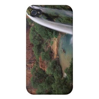 Norteamérica, los E.E.U.U., Arizona, barranco de H iPhone 4 Carcasas