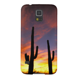 Norteamérica, los E.E.U.U., Arizona, desierto de S Fundas Para Galaxy S5