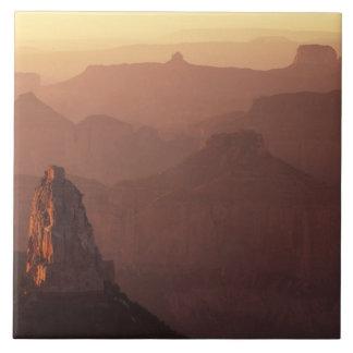 Norteamérica, los E.E.U.U., Arizona, Gran Cañón, Azulejo Cuadrado Grande