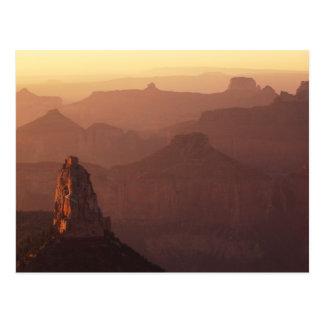 Norteamérica, los E.E.U.U., Arizona, Gran Cañón, Tarjeta Postal