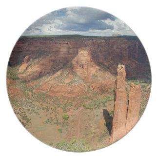 Norteamérica, los E.E.U.U., Arizona, indio de Nava Plato De Cena