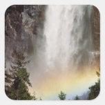 Norteamérica, los E.E.U.U., California, Yosemite Calcomanía Cuadradas