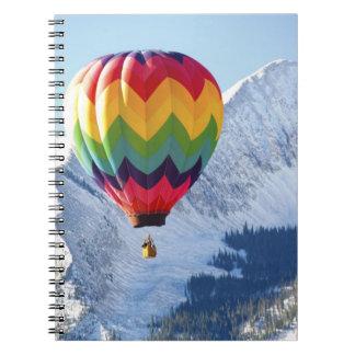 Norteamérica, los E.E.U.U., Colorado, Mt. Crested  Cuaderno