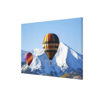 Norteamérica, los E.E.U.U., Colorado, Mt. Crested  Lona Envuelta Para Galerias