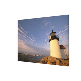 Norteamérica, los E.E.U.U., Massachusetts, Nantuck Impresión En Lona Estirada