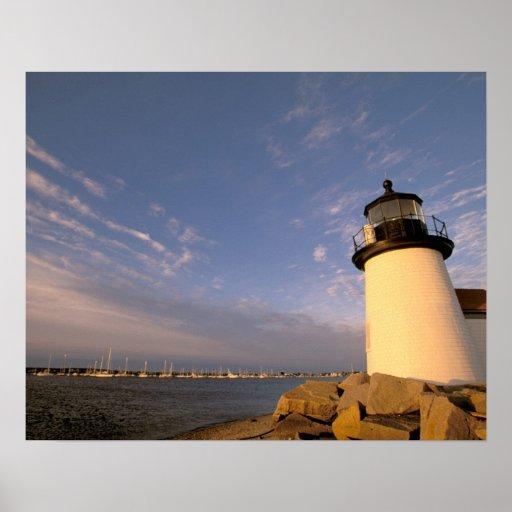 Norteamérica, los E.E.U.U., Massachusetts, Nantuck Póster