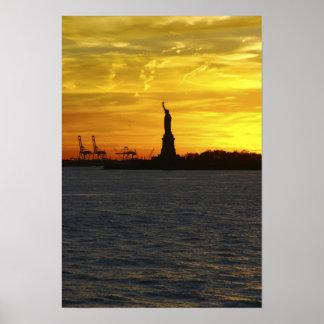Norteamérica, los E.E.U.U., Nueva York, New York C Póster