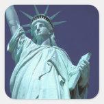 Norteamérica, los E.E.U.U., Nueva York, New York Pegatina Cuadrada