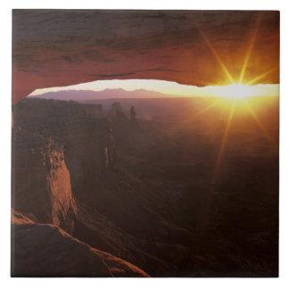 Norteamérica, los E.E.U.U., Utah, Canyonlands Azulejo Cuadrado Grande